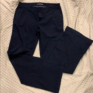 Level 99 boot cut navy trousers
